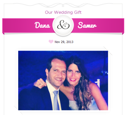 dana & samer wedding