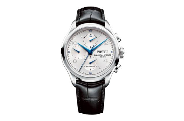 Baume et Mercier Clifton Chronograph watch