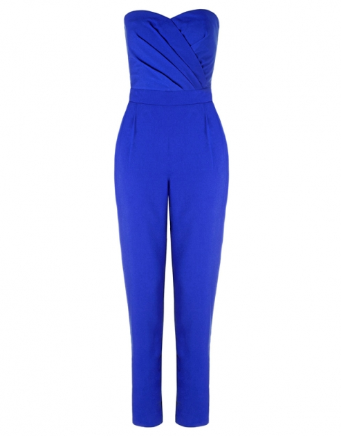 Lipsy Blue Jumpsuit