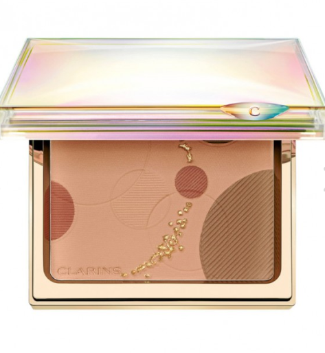 This blush will make the skin radiate with a sun kissed glow, as it contains a mixture of Pinkish Beige, Coral and Beige shades that are suitable for all skin tones. It also mattifies and evens out the complexion, plus the Coral doubles as a blush! This can be found at most beauty retailers that carry Clarins products, such as Harvey Nichols and Sephora.