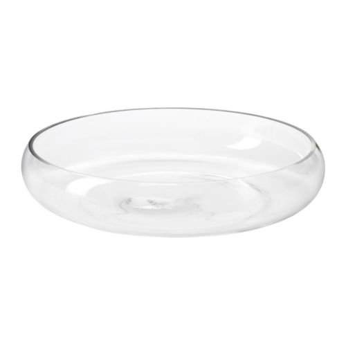 ikea blomster clear glass bowl blog