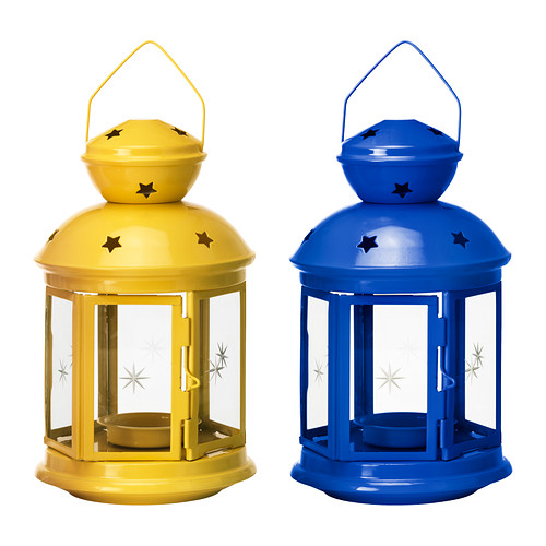 Ikea Rotera lantern for tea lights
