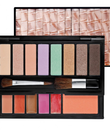 """The """"It"""" Sephora makeup palette contains a mix of bright spring tones along with neutral colors as well, which is great for those who like to mix things up or prefer an everyday natural look.  This make-up palette can be found at Sephora."""