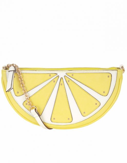 Accessorize lemon wedge clutch Dhs140