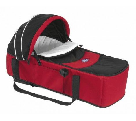 Chicco Soft Carrycot Today Stroller - Red AED 315