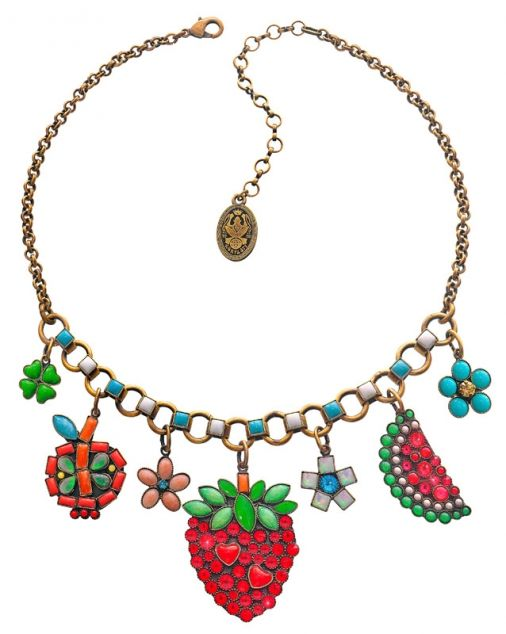 Konplott fruit necklace Dhs666