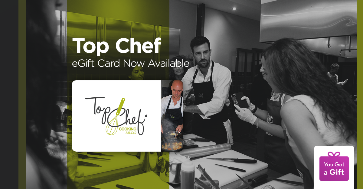 Top Chef Gift Card